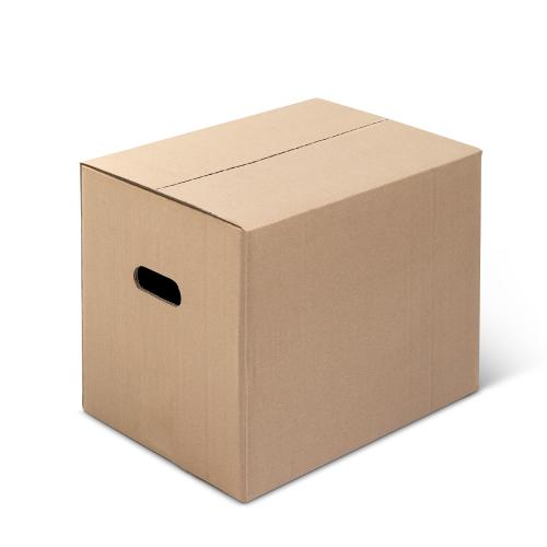 scatole americane mod. l1 con maniglie dim. esterne 400x300x350mm in pacchi da 10pz