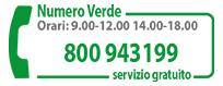 Numero Verde 800 943 199